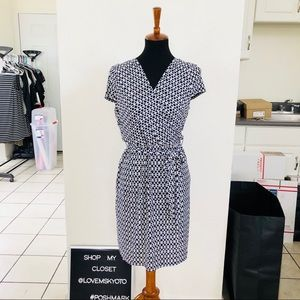 Laundry by design faux wrap dress